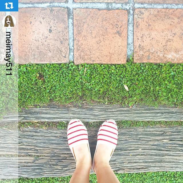 靴磨き女子部より、#運命の靴 お手入れポイント キャンバス素材のフラットシューズは、防水スプレーをかけてお出かけすると、防水効果だけでなく、なんと防汚効果も期待できますよ♪おすすめは・・・#woly 3×3プロテクター はレザーにもキャンバスにもナイロンにも使用できるオールマイティな防水スプレーです。#靴磨き女子部直伝お手入れ #Repost @meimay511 with @repostapp.・・・月曜はお気に入りの靴で朝食へパリの蚤の市で出会った#運命の靴 、いい靴はいい場所へ連れてってくれるって言うから、20ユーロの靴だって手入れしながらずっと使いたい。#walkingonsunshine