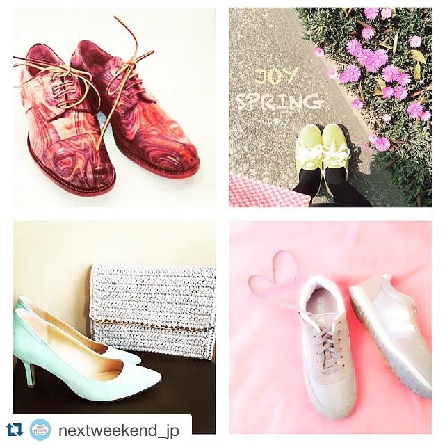 みなさんの#運命の靴 storyお待ちしてます。今週末までです♡ #Repost @nextweekend_jp with @repostapp.・・・#運命の靴 コンテスト終了がもうすぐ! お気に入りのマイシンデレラシューズを #運命の靴 をつけて投稿した方に、靴磨きのプロ @shoecaregirls が、オススメのケア方法をコメントしてくれているようです️ たくさん集まった #運命の靴 の中からNEXTWEEKENDが当選者を選定中♩まだ挑戦していない方は、とびっきりのシンデレラシューズをぜひ︎ 詳しくは、@nextweekend_jp HPトップのスライダーから