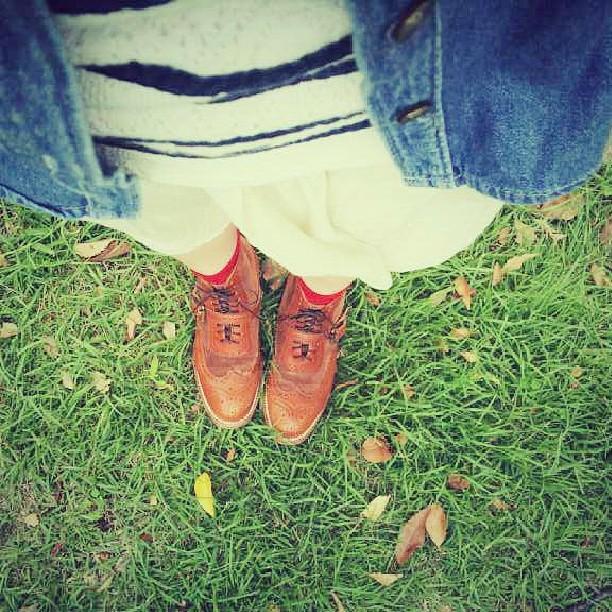 シューケアを始めて、一番最初に買った革靴♪ユケテンは今も一番のお気に入りです☆