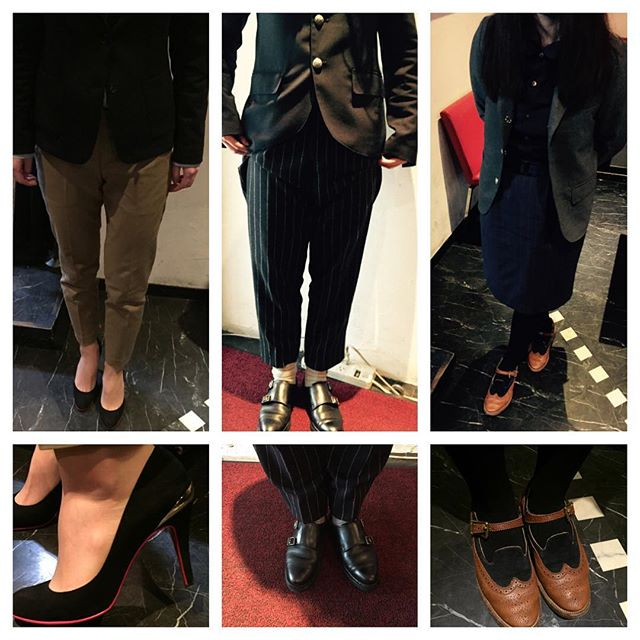 ちょっとおめかし︎ HP:@shoecaregirls #靴磨き女子部#靴磨き女子部ピンクレンジャー#靴磨キ女子部センチャン #靴磨き女子部こびと
