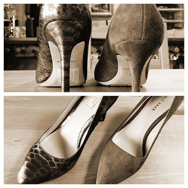 素敵な靴は見るだけで楽しい…でも欲しいのが本音です。HP:@shoecaregirls #靴磨き女子部#shoes#靴磨き女子部ピンクレンジャー#highheels#colehaan#パンプス#ハイヒールに魅せられた#ハイヒール