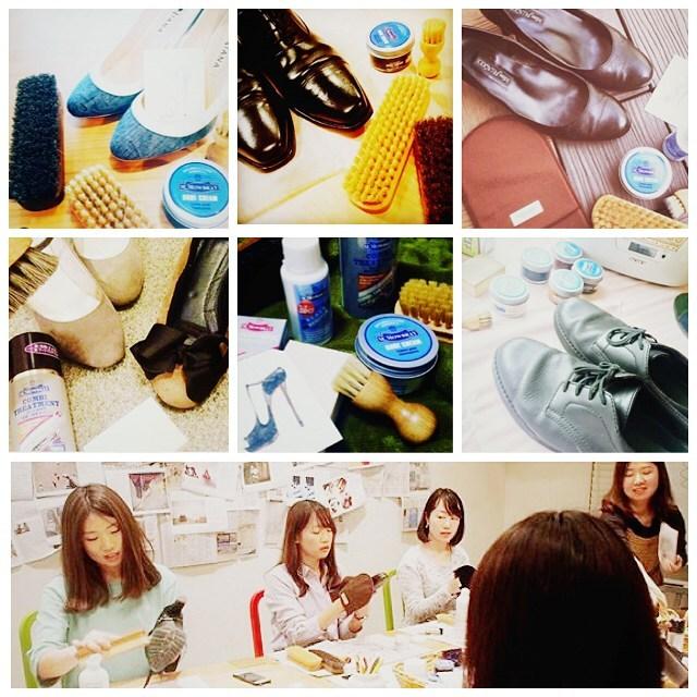 新しいこと、新しい出会いも多いこの季節。毎日バタバタしがちだけど、まずは〝身の周りから整えたい〟ものですね︎自分の靴や家族の靴もきれいにしたいなと靴磨きアンバサダーのみなさんにお集まりいただきました♩#はりきりやさん #靴磨き女子部 でみなさんのshoecaretimeものぞけますよ ヽ︎HP: @shoecaregirls#靴磨き女子部 #バクバクコアラ#nextweekend