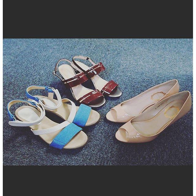 足元の涼しいサンダルやオープントゥで出かけることの多いこの季節。コーディネートに合わせて色を選ぶのも楽しみのひとつです♪今日は何を履いていこうかな。HP:@shoecaregirls#ハスキー犬 #ハスキーケン #靴磨き女子部 #サンダル #オープントゥ #bellflorrie #patrikcox #modeclasse  #くつのこと #mowbraymania #モゥブレィ同盟 #本日の足元チラッ