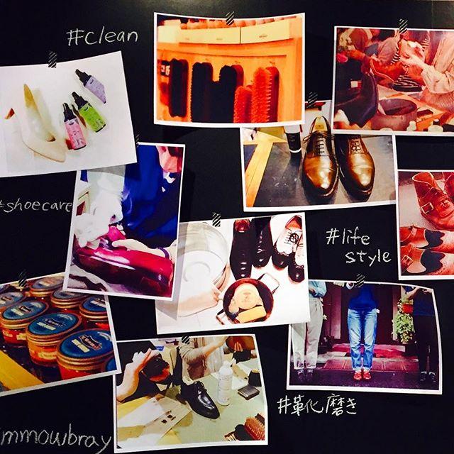 靴磨きって楽しい!そんな様子の過去の投稿を貼ってみました#rooms #rooms33 #shoecare #mowbray #靴磨き女子部 #lifestyle #mowbraymania