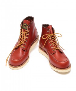 RED WING×BEAMS / Irish Setter Moc Toe