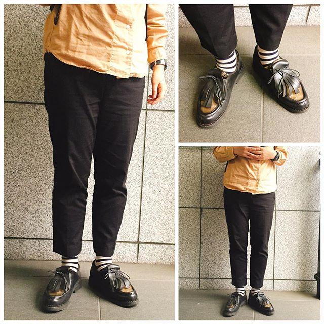 こんにちは!今日はパラブーツのミカエル☆5、6年前に初めて買ったファーストパラブーツであります!やっぱり良い靴です#shoecare #paraboot #ミカエル #パラブーツ #kicks #france#shoeshine#足元倶楽部 #socks #靴下 #福助さんです #ボーダー同盟 #エスプリ軍曹参上 #靴磨き #靴磨き女子部 HP:@shoecaregirls