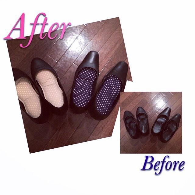 通勤は毎日黒いパンプス。。自分らしくアレンジしたいなぁ。。という方は【ポップソフトクッション(¥600+tax)】がおすすめです︎装着するだけで華やかな印象に靴を脱いだ時にチラッと見えるのもかわいいですよ。HP:@shoecaregirls#靴磨き女子部 #靴磨き女子部せんちゃん #mowbraymania #ポップソフトクッション #この他にも柄がたくさんありますよ!