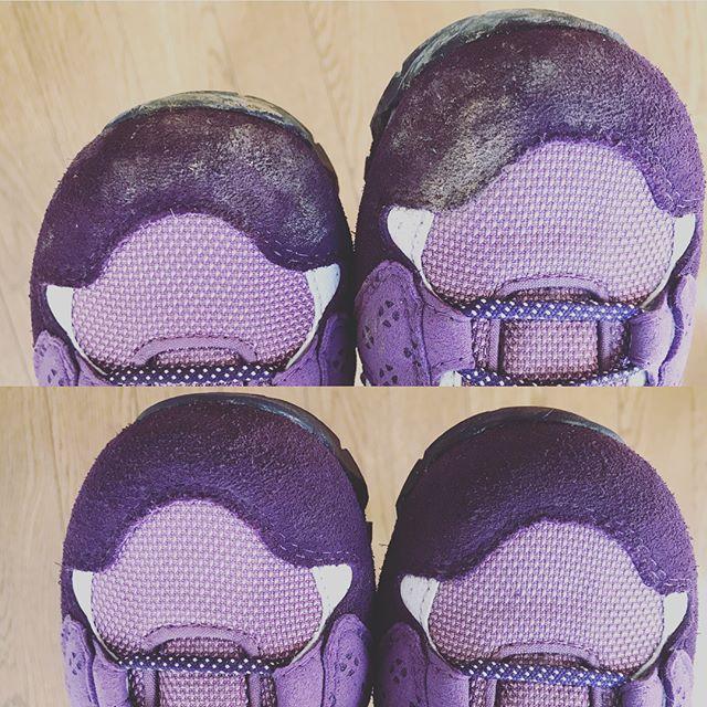 泥まみれになった登山靴#mowbray #スプラッシュブラシ でブラッシングするだけで簡単キレイに️ .#靴磨き女子部 #靴磨き女子部セガール #足元倶楽部 #あしもと倶楽部 #shoecaregirls #shoes #shoecare #登山靴 #アウトドア #caravan #mowbraymania