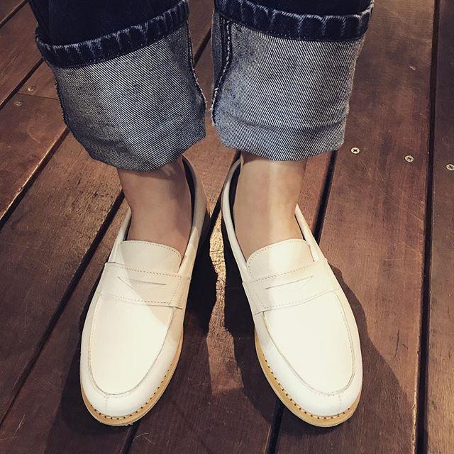 先日、手に入れたパラブーツこの春たくさん履こうと思います#靴磨き女子部 #パラブーツ#オノシャルD