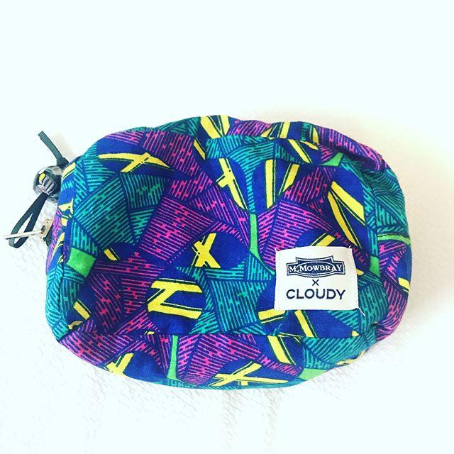 ネットバッグにポーチを入れて#靴磨き女子部#靴磨き女子部e #filt #cloudy #mowbray #ポーチ