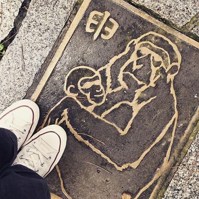 先日のお休みで温泉街へ小旅行しました〜。雨だったので️プロテクターアルファを念入りにかけました#靴磨き女子部e #mowbray #コンバース#ct70 #旅行#温泉#雨
