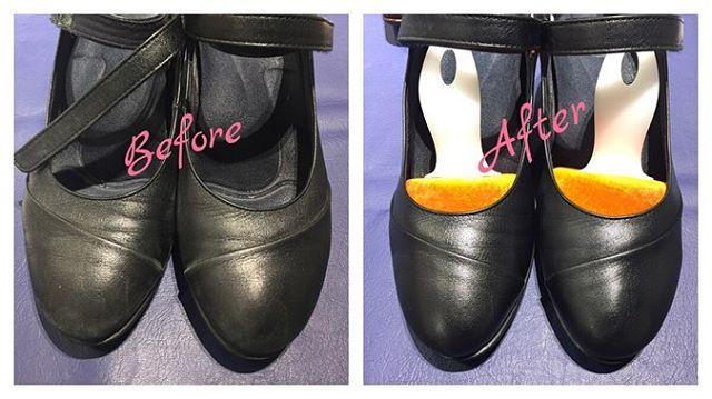 .10日、11日のワークショップイベントにご参加頂いたみなさま、本当にありがとうございました!.綺麗になった靴を見て感動してくださる姿に、私たちも本当に嬉しい気持ちになります︎ ..先程アップしましたが、また次回のイベントもございます!皆様とお会いできることを心よりお待ちしております@shoecaregirls #shoecare#shoecaregirls #靴磨き女子部 #靴磨き女子 #靴磨き女子部t #仕事靴 #ワークショップ #m mowbray #ベルベットキーパー #新宿 #働く女性 @m.mowbray ..*画像のケアに使用したアイテム*ベルベットキーパー#プロホースブラシ#ステインリムーバー #リムーバークロス#ペネトレィトブラシ#mowbrayクリームジャーブラック#プロブラックブラシ#グローブクロス