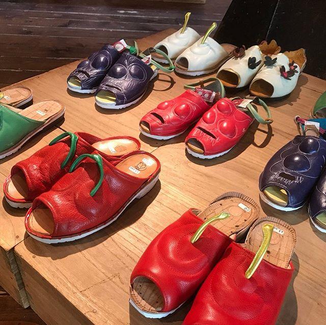 昨日は、お休みだったので、毎年楽しみにしている@kisakishoes_kisakikisakishoes靴展'重なり'行ってきました︎キサキさんらしい靴、サンダルがならんでます。代官山駅西口から徒歩3分ほど暮らしの工房&ぎゃらりー無垢里4/24、今日まで…開催。お時間ある方は是非!