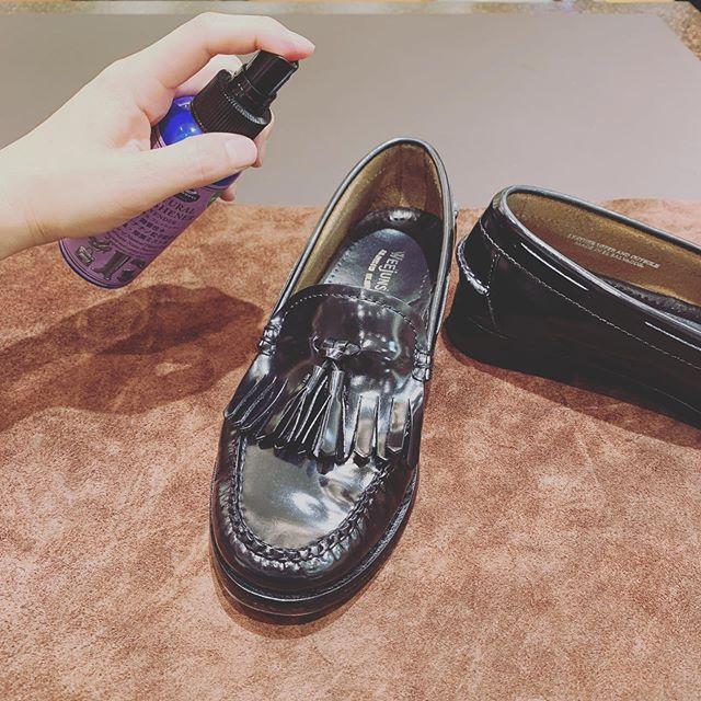 靴の中もクリーンに保ちたい
