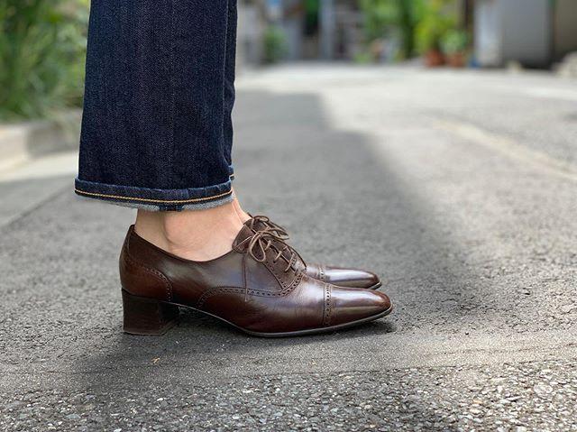 久しぶりの晴れ︎革靴日和