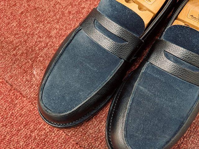 古靴ですが、とてもお気に入り。キーパーを入れて大切に履いています。